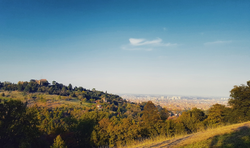 Bologna from the Apennine Hills