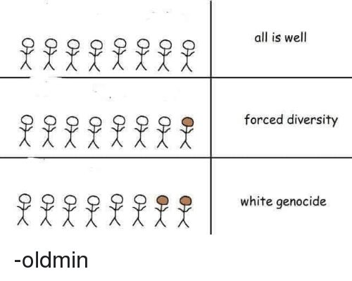 Stick figures showing how reactions to diversity reveal a lot about society