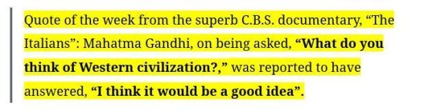 Gandhi-misattributed-quote-western civilsation